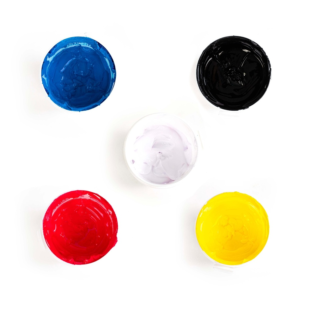Ink Pack CMYK & White